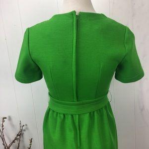 Vintage Dresses - Vintage 60s Jonathan Logan Green Mod Dress